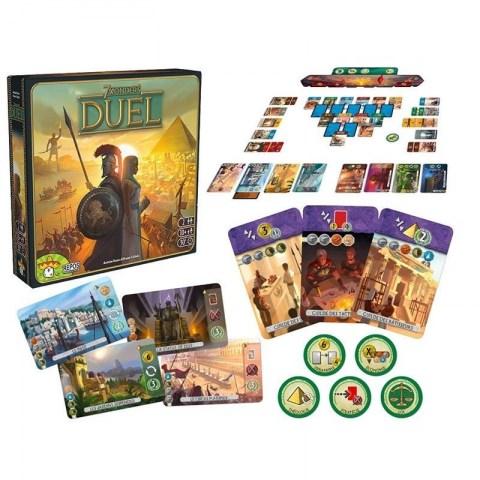 7 Wonders Duel (2015) - настолна игра