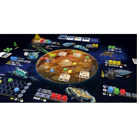 Alien Frontiers 5th Edition (2017) Board Game