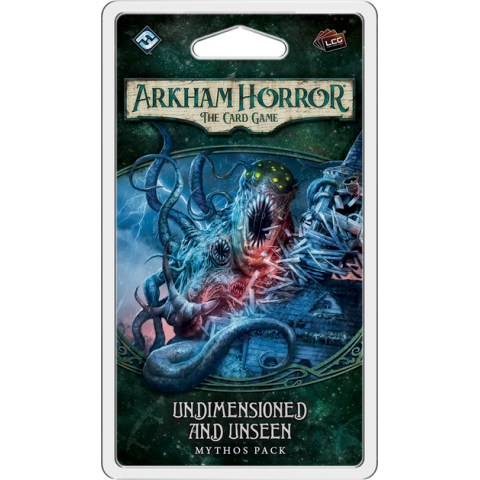 Arkham Horror: The Card Game - The Dunwich Legacy Cycle 4 -  Undimensioned and Unseen Mythos Pack