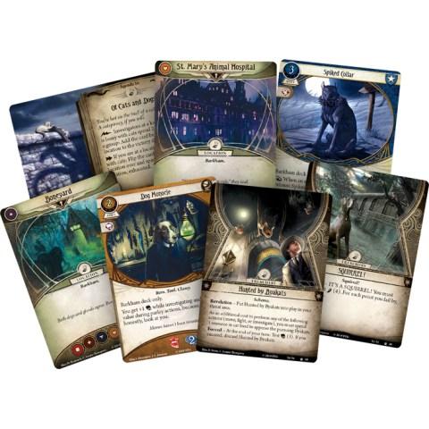BArkham Horror: The Card Game – The Meddling of Meowlathotep Scenario Pack (2020)