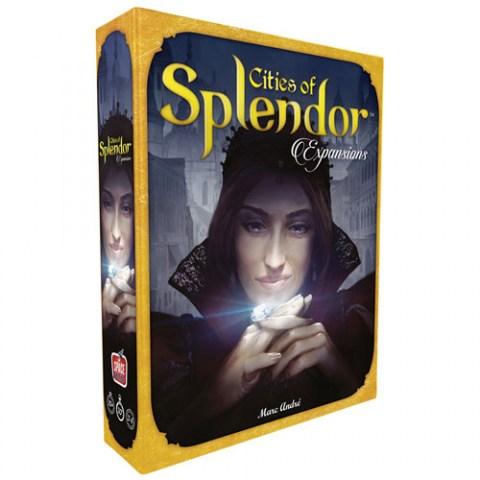Cities of Splendor (2017) - разширение за настолна игра