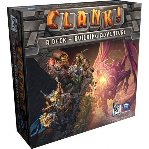 Clank!: A Deck-Building Adventure Game (2016) - настолна игра