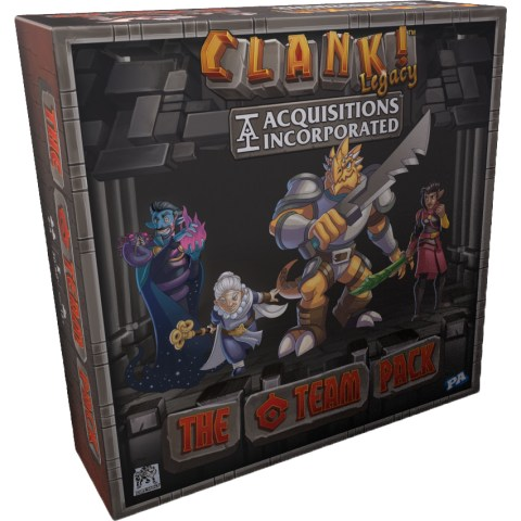 "Clank! Legacy: Acquisitions Incorporated – The ""C"" Team Pack (2019) - разширение за настолна игра"