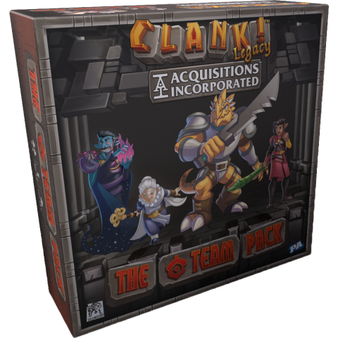 """Clank! Legacy: Acquisitions Incorporated – The """"C"""" Team Pack (2019) - разширение за настолна игра"""