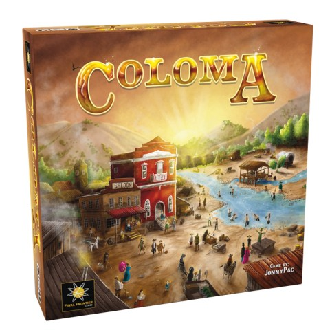 Coloma (2019) Board Game