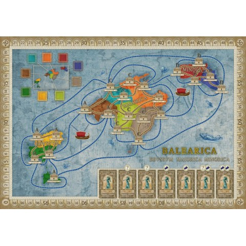 Concordia: Balearica / Cyprus Expansion (2019) - разширение за настолна игра