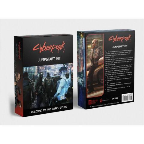 Cyberpunk Red RPG: Jumpstart Kit (A PNP Cyberpunk 2077 prequel, 2019)