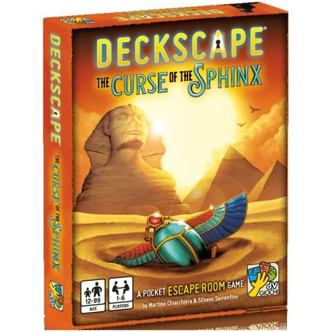 Deckscape: The Curse of the Sphinx (2019) Board Game