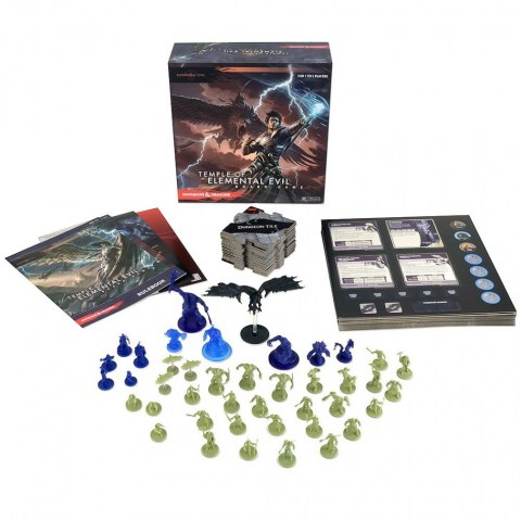 Dungeons & Dragons: Temple of Elemental Evil Board Game (2015, D&D Adventure System) - кооперативна настолна игра в света на D&D