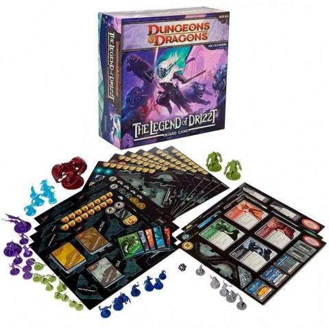 Dungeons & Dragons: The Legend of Drizzt Board Game (2011, D&D Adventure System) - кооперативна настолна игра в света на D&D