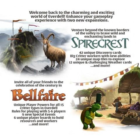 Everdell: Bellfaire Expansion (2019) - разширение за настолна игра