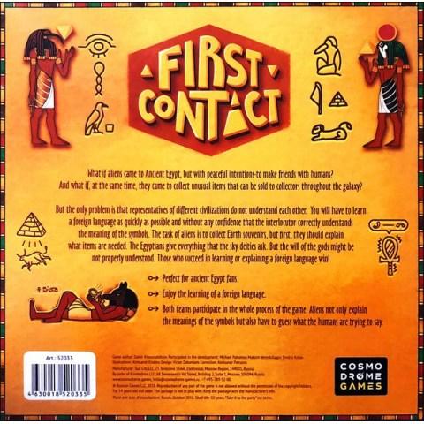 First Contact (2018) - настолна игра
