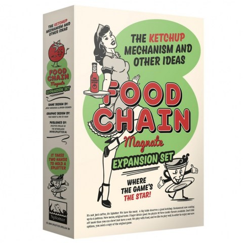 Food Chain Magnate: The Ketchup Mechanism & Other Ideas Expansion (2019) - разширение за настолна игра