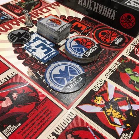 Hail Hydra (2018) Board Game
