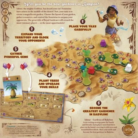 Ishtar: Gardens of Babylon (2019) - настолна игра