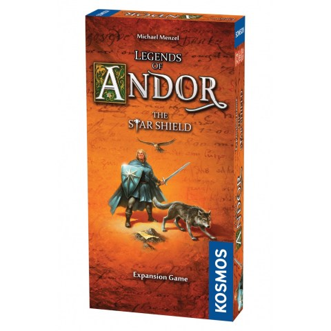 Legends of Andor: The Star Shield Expansion (2013) - разширение за настолна игра