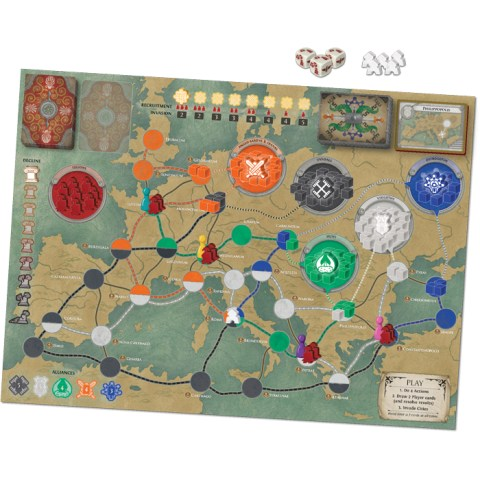 Pandemic: Fall of Rome (2018) - настолна игра
