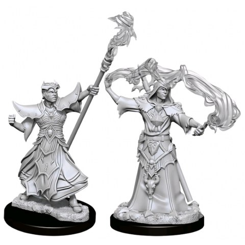 Pathfinder Deep Cuts Unpainted Miniatures: W11 Male Human Sorcerer Board Game