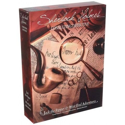 Sherlock Holmes Consulting Detective: Jack the Ripper & West End Adventures (2017) - детективска настолна игра
