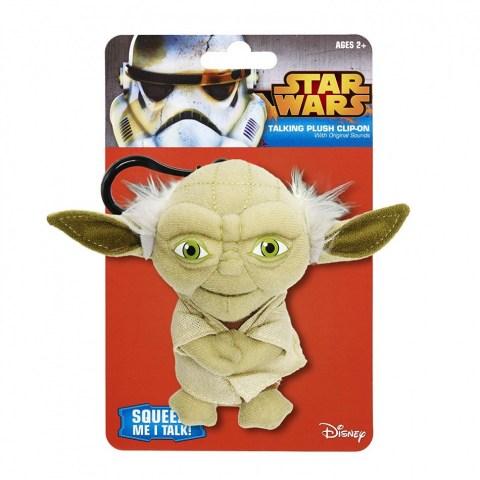Star Wars Mini Talking Plush Keychains - Yoda в Подаръци