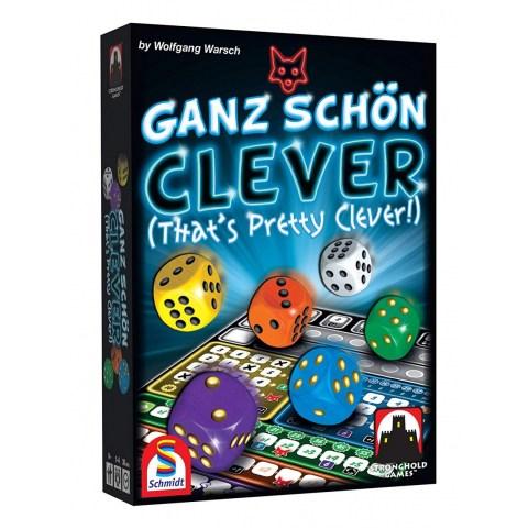 That's Pretty Clever (2018) - настолна игра Ganz schön clever