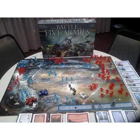 The Hobbit: The Battle of the Five Armies (2014) - настолна игра
