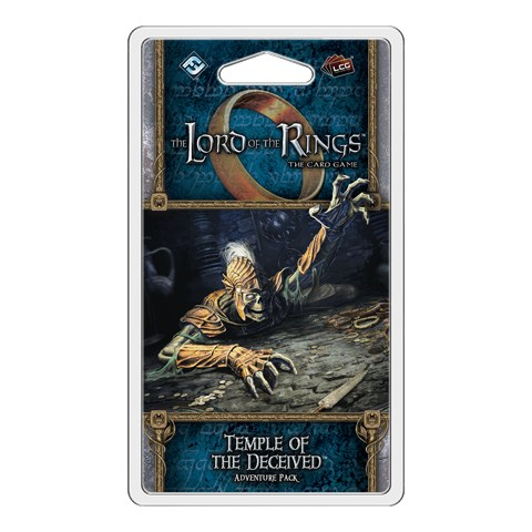The Lord of the Rings LCG: Dream-chaser Cycle - Temple of the Deceived Adventure Pack Board Game