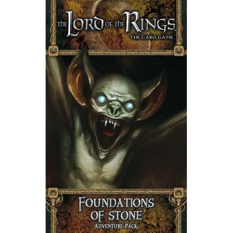 The Lord of the Rings LCG: Dwarrowdelf Cycle - Foundations of Stone Adventure Pack