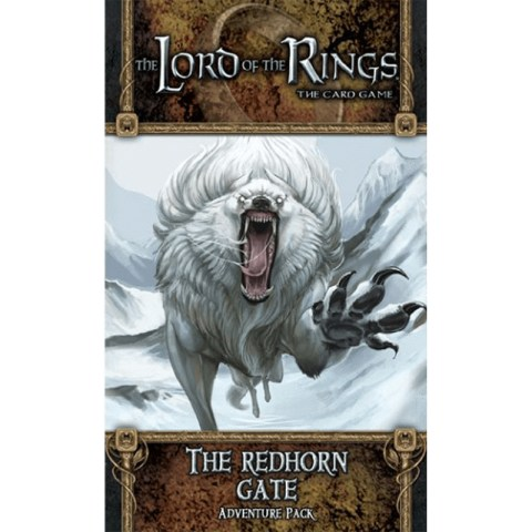 The Lord of the Rings LCG: Dwarrowdelf Cycle - The Redhorn Gate Board Game
