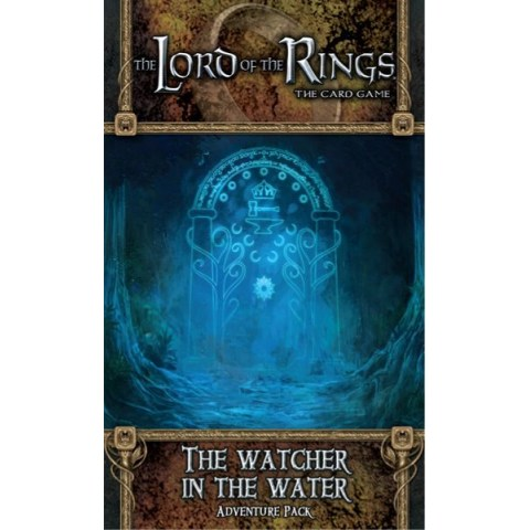 The Lord of the Rings LCG: Dwarrowdelf Cycle - The Watcher in the Water Adventure Pack Board Game