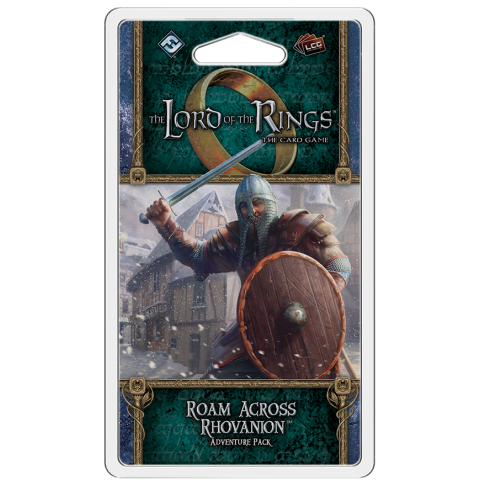 The Lord of the Rings: The Card Game – Roam Across Rhovanion Adventure Pack Board Game