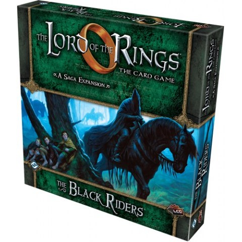The Lord of the Rings: The Card Game - The Black Riders Deluxe Expansion (2013) - разширение за настолна игра