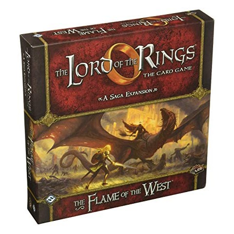 The Lord of the Rings: The Card Game - The Flame of the West Saga Expansion (2016) Board Game
