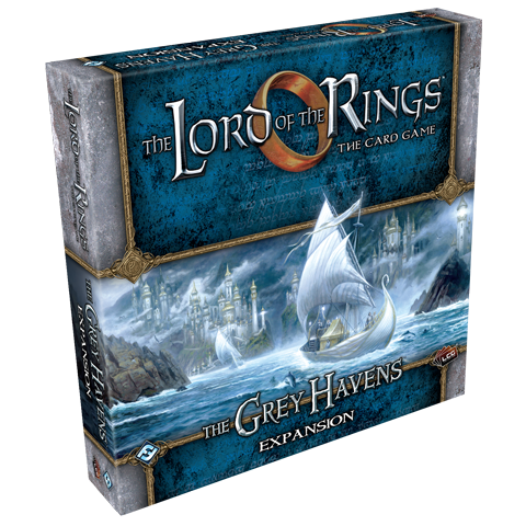 The Lord of the Rings: The Card Game - The Grey Havens Deluxe Expansion Board Game