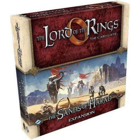 The Lord of the Rings: The Card Game - The Sands of Harad Deluxe Expansion (2016) - разширение за настолна игра