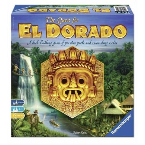 The Quest for El Dorado (Second Edition, English/German, 2020) - настолна игра