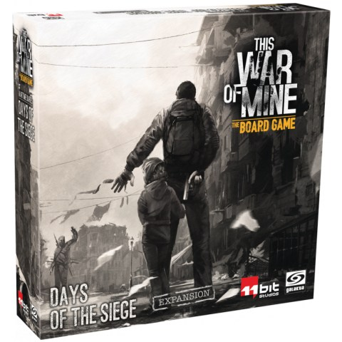 This War of Mine: The Board Game - Days of the Siege Expansion (2019) - разширение за настолна игра