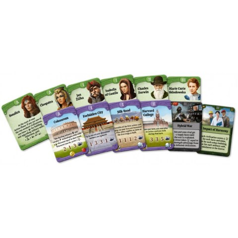 Through the Ages: A New Story of Civilization - New Leaders & Wonders Expansion (2019) Board Game