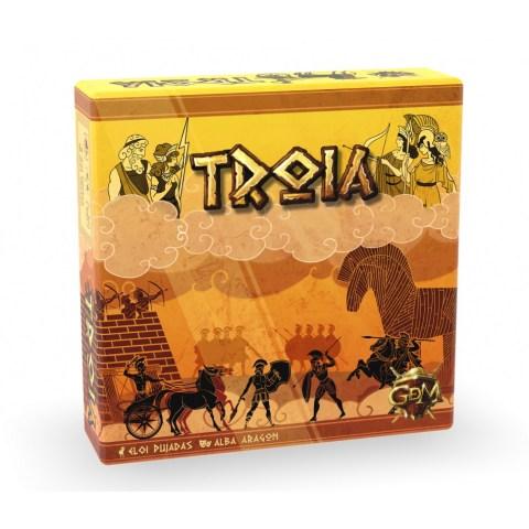 Troia (2019) - настолна игра за двама