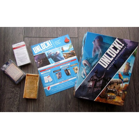 Unlock 2! Mystery Adventures (2017) Board Game