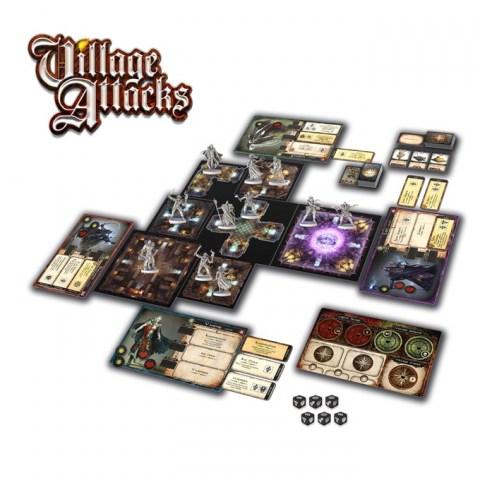 Village Attacks (2017) - кооперативна настолна игра