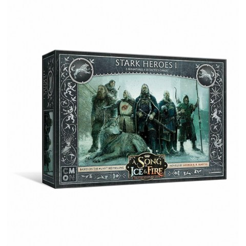 A Song of Ice & Fire: Tabletop Miniatures Game - Stark Heroes  #1 Expansion