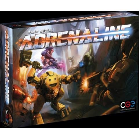 Adrenaline (2016) - настолна игра