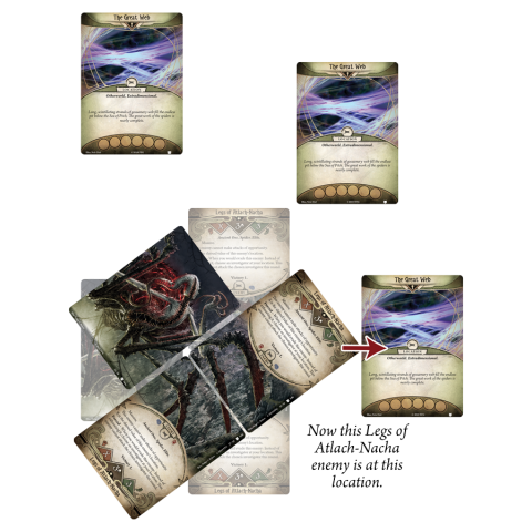 Arkham Horror: The Card Game - The Dream-Eaters cycle 6 - Weaver of the Cosmos Mythos Pack Board Game
