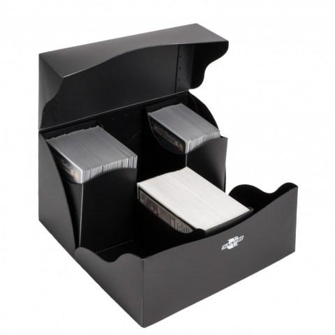Blackfire Flip Deck Holder Trio (240+) - Black in Deck boxes