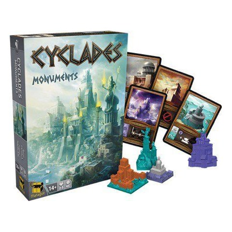 Cyclades: Monuments Expansion (2016) Board Game