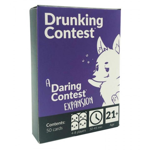 Daring Contest: Drunking Contest Expansion Board Game