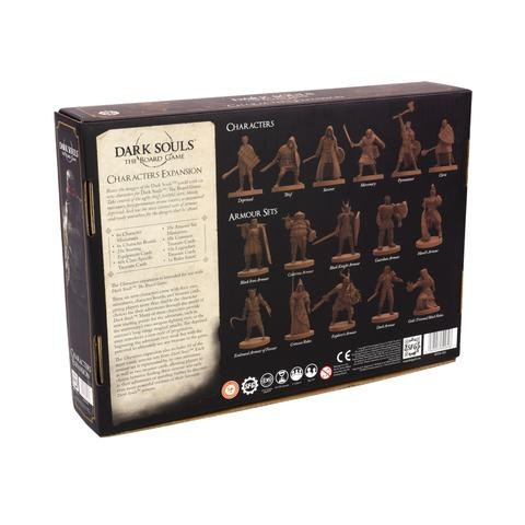 Dark Souls: The Board Game - Core Game Expansion Sets - Characters Expansion (Players+Armour Sets) (2019) - разширение за настолна игра