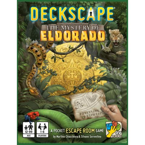 "Deckscape: The Mystery of Eldorado (2018) - джобна ""escape room"" игра"