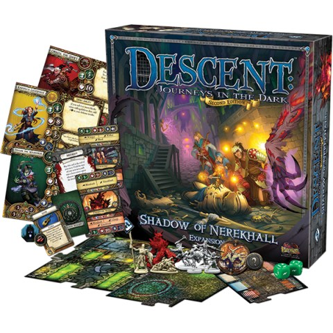 Descent: Journeys in the Dark 2nd Edition - Expansion - Shadow of Nerekhall (2014) - разширение за настолна игра